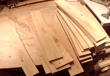 Prepare the Wood Pieces