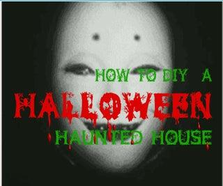 DIY Halloween Haunted House (Arduino Project)