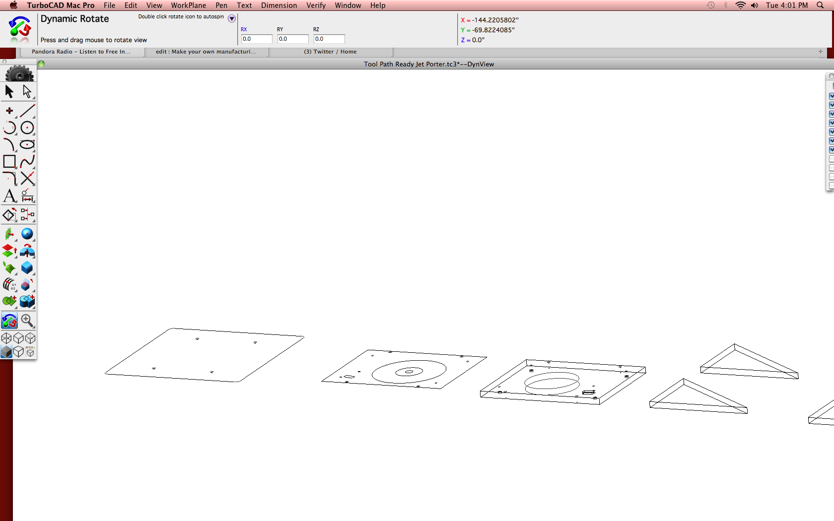 Picture of Design Execution - Preparing 3D File for Tool Path Creation