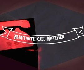 Bluetooth Call Notifier