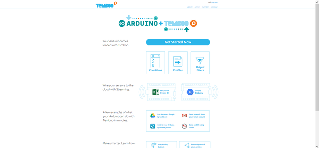 Setting Up Temboo Account