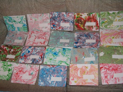 Shaving Cream  N  Dyes Envelopes and Notecards