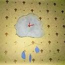 Kids Cute cloud clock tutorial