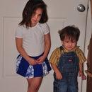 Little Girls' Cheerleading Skirt