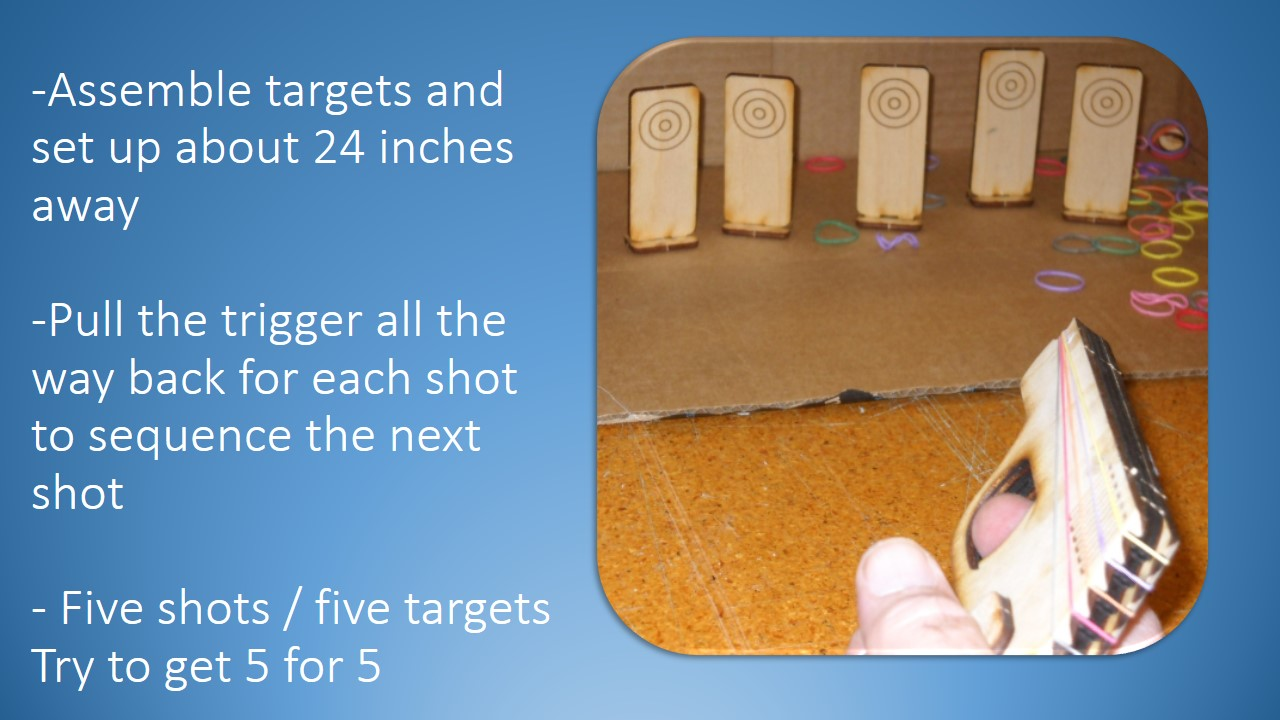 Picture of Assemble the Targets