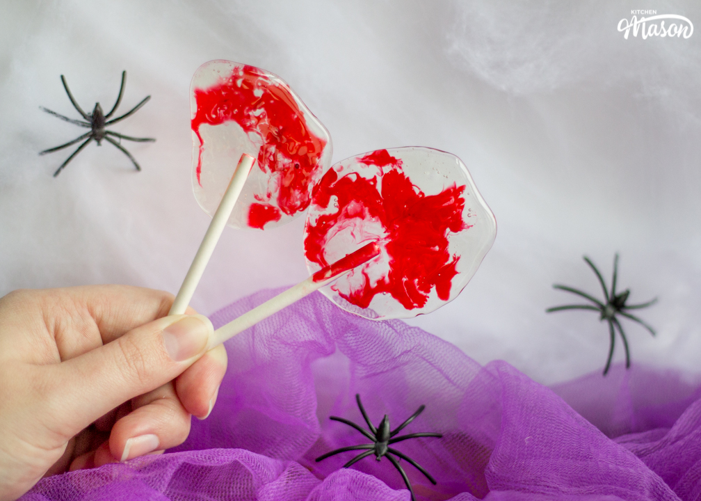 Picture of How to Make Brilliantly Bloody Halloween Lollipops