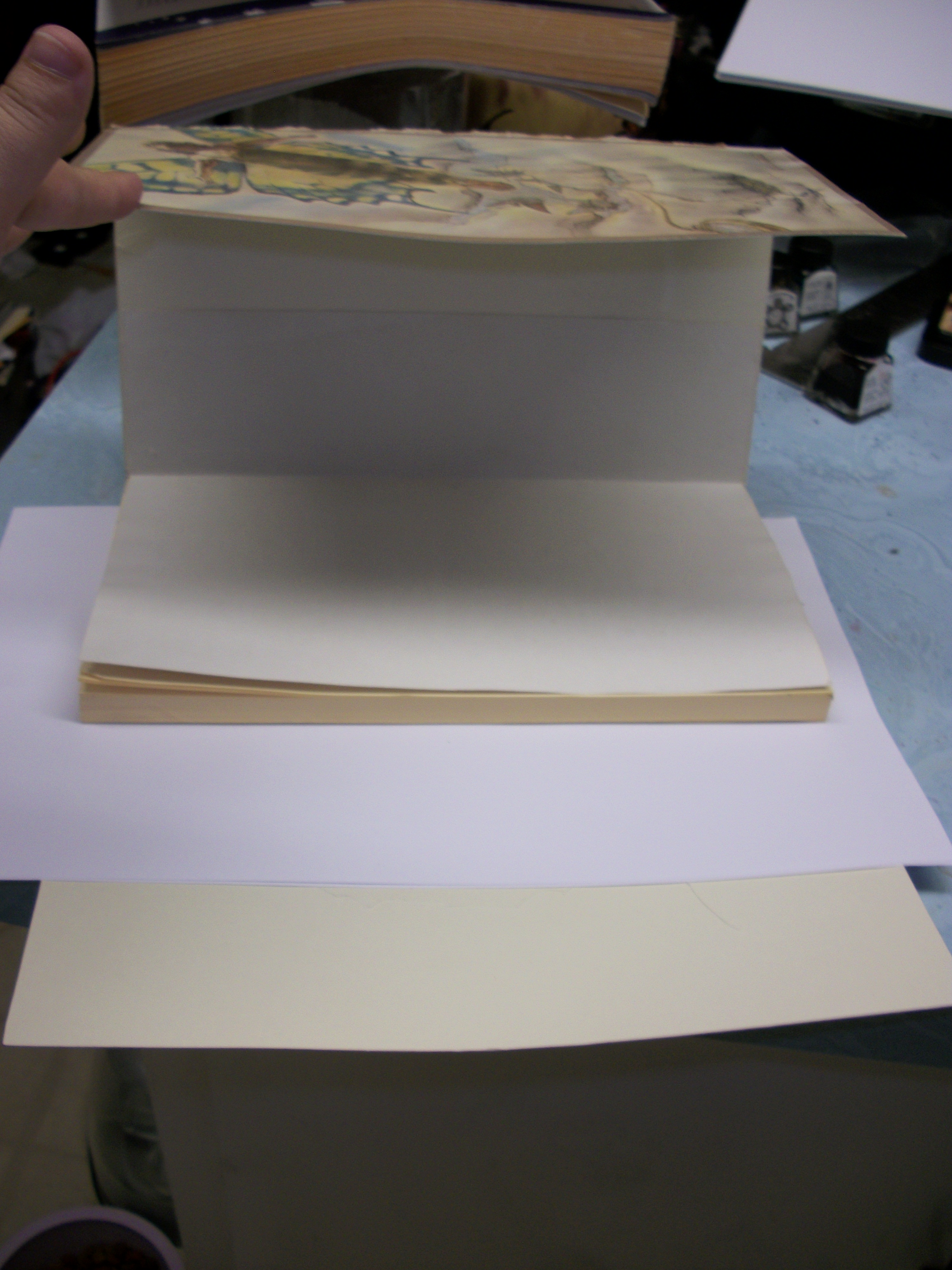 Picture of Finishing Up the Text Block/end Papers