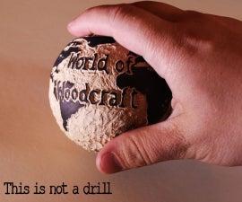 Wooden world of woodcraft logo