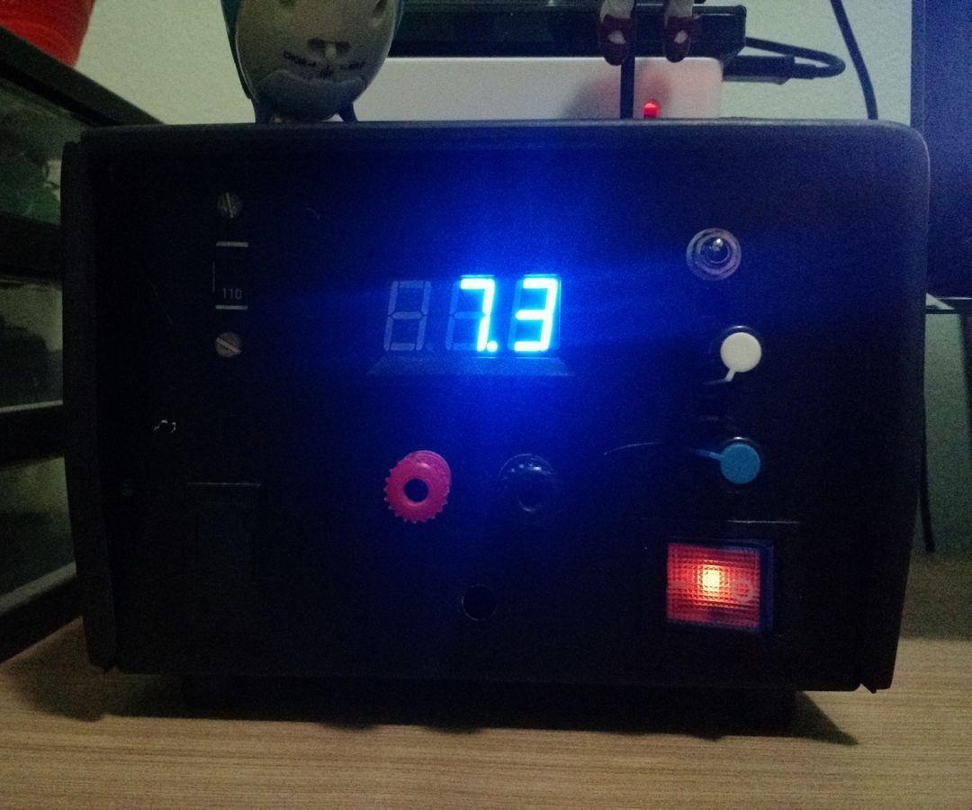 Lm317 Based Subblock Adjustable Dc Power Supply Circuit Free