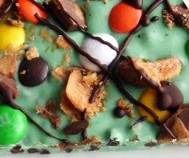 5-minute Halloween Candy Bark