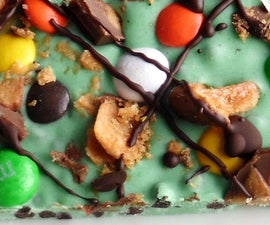 5-minute Halloween Candy Bark