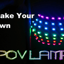 Make Your Own Rainbow POV Lamp! From Literally Junk!