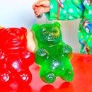 How to Make a Giant JELLO Gummy Bear