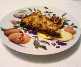 Date and Walnut dessert - Persian sweetness for an Italian/American Christmas
