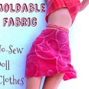 Moldable Fabric for Doll Clothes