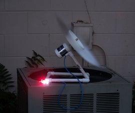 Parasitic Wind Turbine