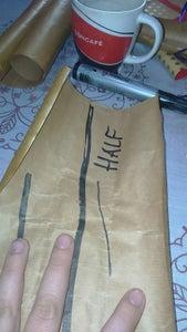 Folding & Sticking; Making the End