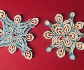 DIY Christmas Decorations: Paper Quilling Snowflake Ornament ❄