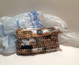 Pencil Case (and more) from Grocery Bag Plarn