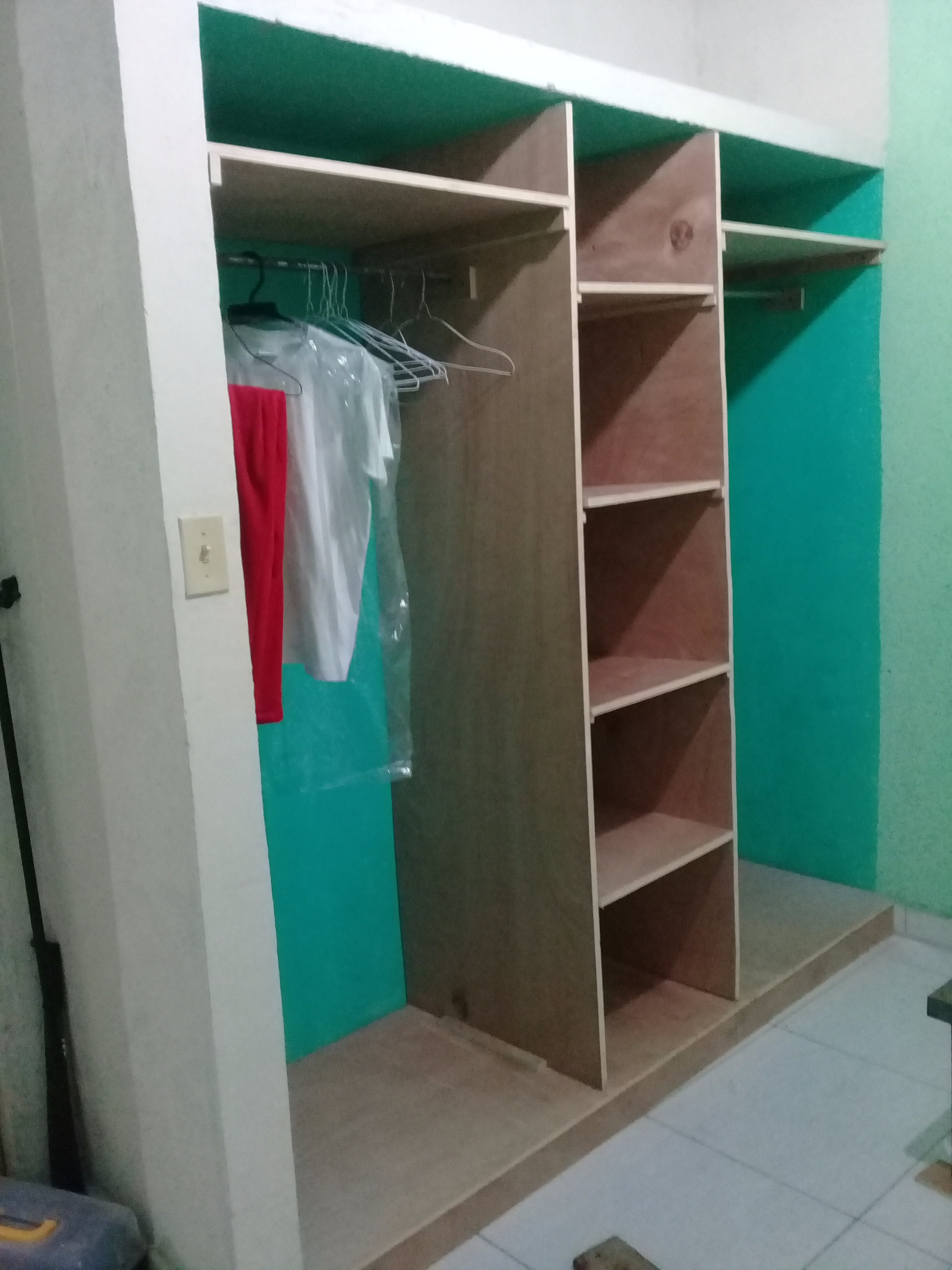 Wood Closet Organizer 6 Steps With Pictures