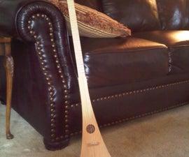 """How to build a """"Strum Stick""""."""