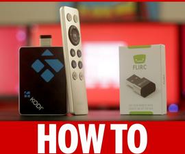 Use Your Remote Control in Kodi on Raspberry Pi 3 Using FLIRC