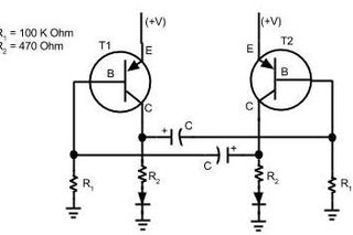 Simple Blinking LED Circuit : 5 Steps (with Pictures) - InstructablesInstructables