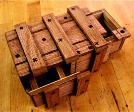 Mini Simple 2 Step Puzzle Crate