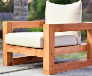 Modern Outdoor Chair
