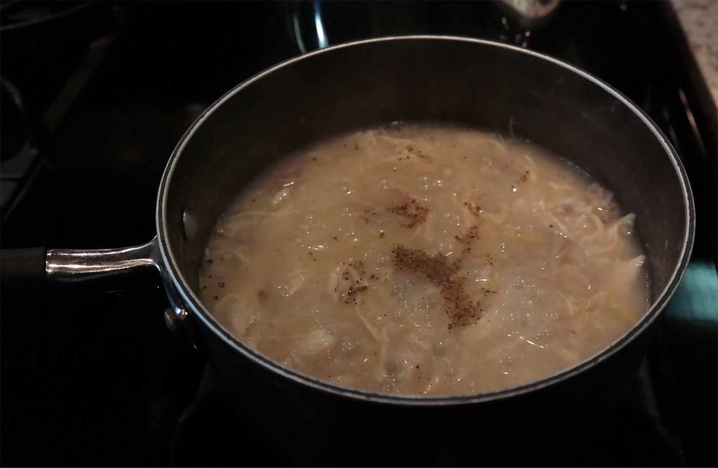Picture of Finishing the Congee Base