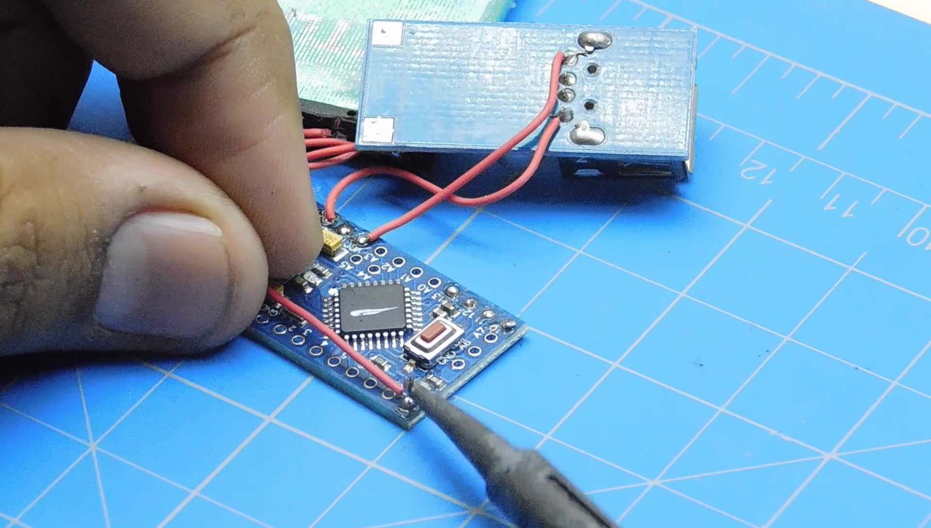 Picture of  Connecting the LED to Arduino Via Power Transistor