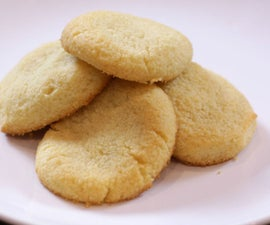 Low Carb and Sugar Free Shortbread Cookies (Keto Friendly/Gluten Free)