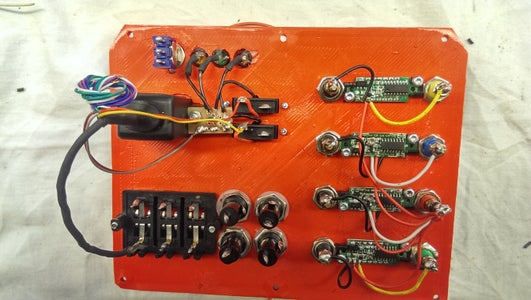 Connecting Indicator LEDs and Voltmeters