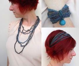 1 Chain Stitch = 3 Transformable Accessories