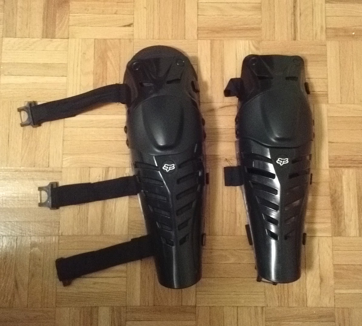 Picture of Upgraded Knee/Shin Pads Under $8 (Total Cost of Knee Pads + Upgrade Is $43.00 CDN)