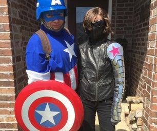 Captain America Shirt - Comic Book Classic!