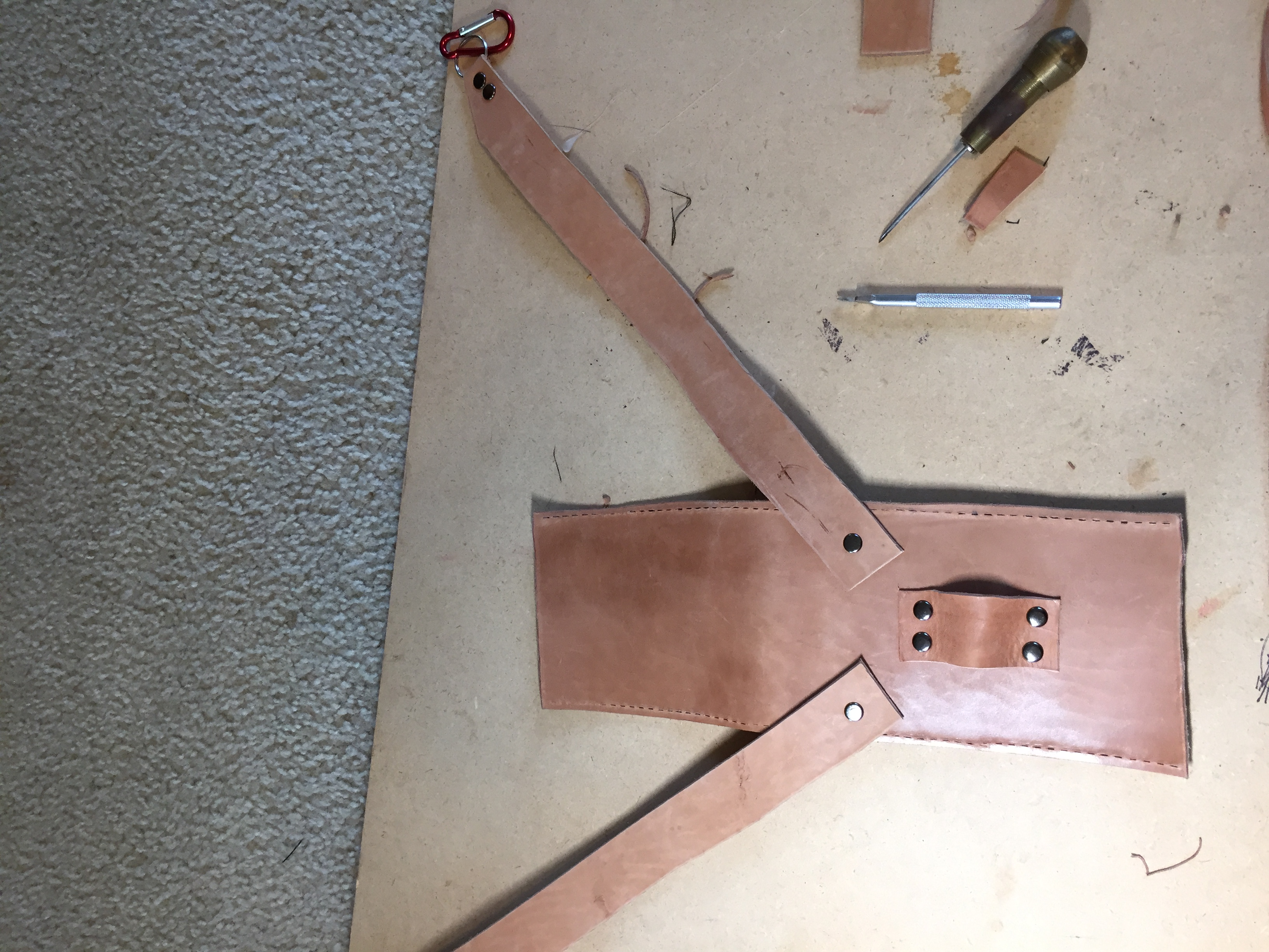 Picture of Fold Into Three and Measure Straps