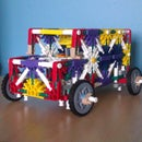 K'NEX Strong Vintage Van With Double Steering