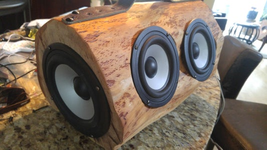 Log Computer Speaker