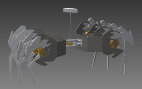 Robotic Mechanical Spider