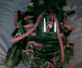 Go/hiking/extended stay bag