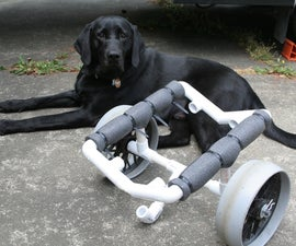 PVC Kayak Cart
