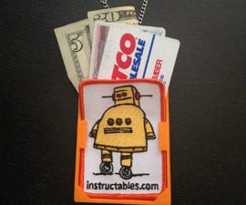 Instructables Wallet Pendant