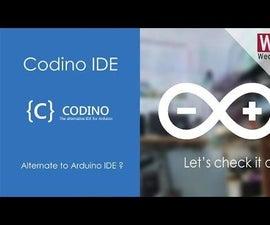 Codino an Alternate IDE for Arduino