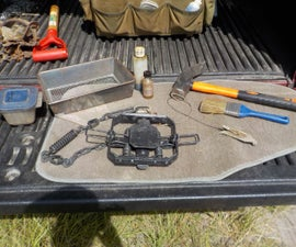 How to Set a Coyote Trap