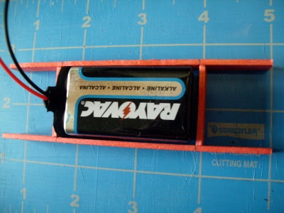 Make the Battery Compartment