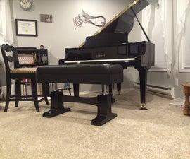 Pneumatic Adjustable Piano Bench