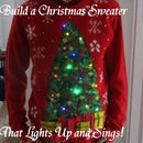 Singing Light Up Christmas Sweater!