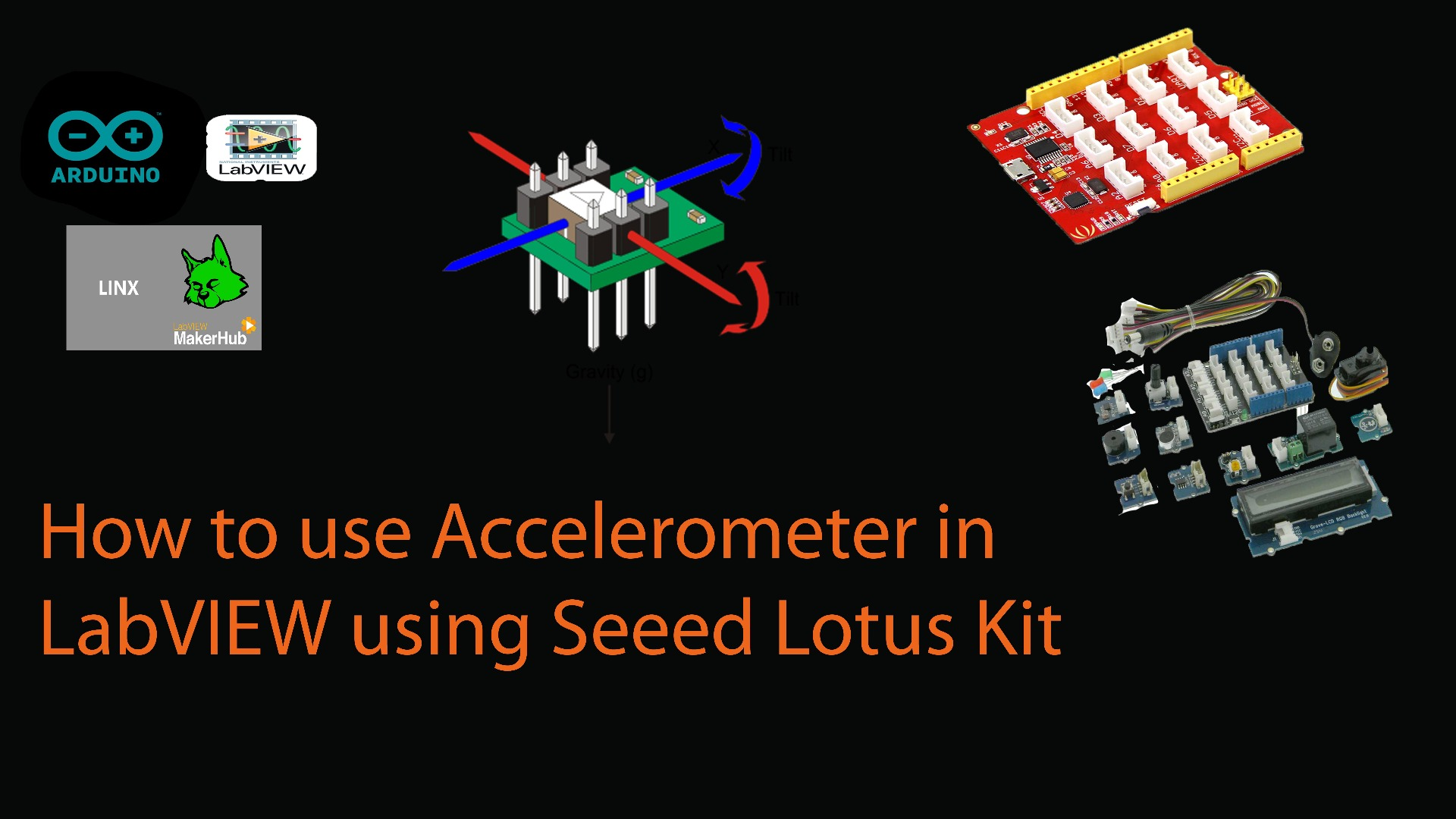 Picture of How to Acquire Accelerometer Sensor Data in to LabVIEW