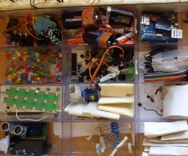 Electronics Components Organizer